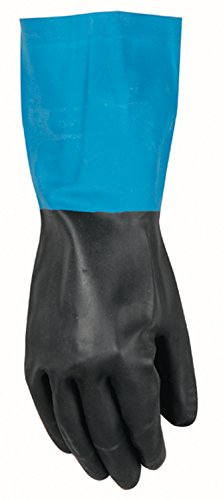oves with Gauntlet Cuff, Neoprene Overdip Coated, Large (191L) ()
