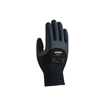 Size 7//S Uvex Unilite Thermo Plus Winter Cold-Store Thermal Gripper Gripster Work Gloves