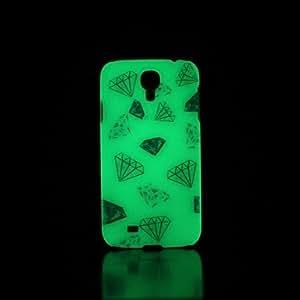 Teléfono Móvil Samsung - Cobertor Posterior - Gráfico/Diseño Especial/Resplandor en la Oscuridad - para Samsung S4 I9500 Plástico )