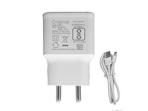 MIMOB Fast Wall Travel Charger For Android Smartphone   White