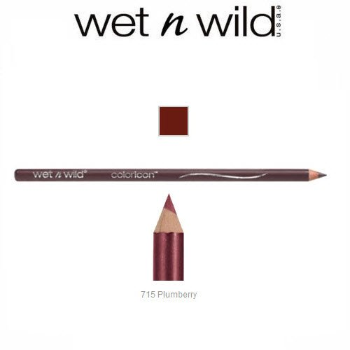 (3 Pack Wet n Wild Beauty Color Icon Lipliner 715 Plumberry)