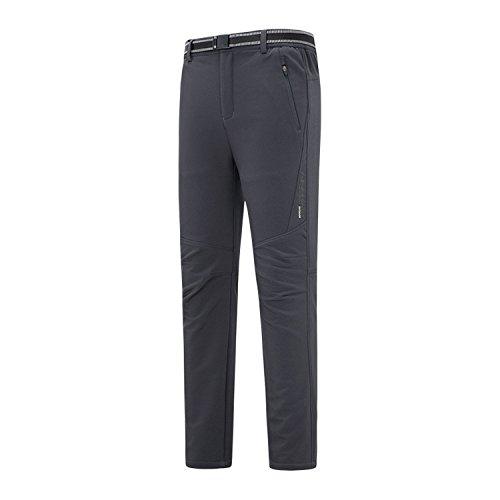 Pantaloni Slittamento Dei Solido Resistenza Scuro Piste Salita m Peluche Colore Fym Grigio Giacche Di A Ispessita Dyf UFxtFqv