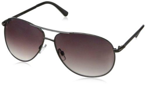 union-bay-womens-u889-aviator-sunglassesgun-white64-mm