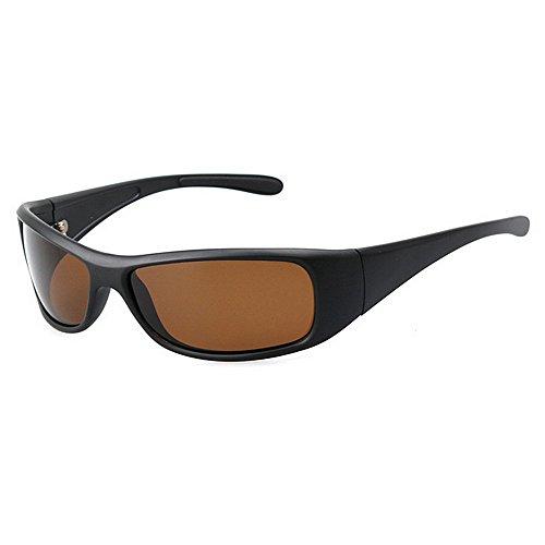 Fishing Homme LBY Noir Sunglasses Lunettes pour Couleur Brown Polarized De Soleil de Décontractées Sport Lunettes gwqUFfw