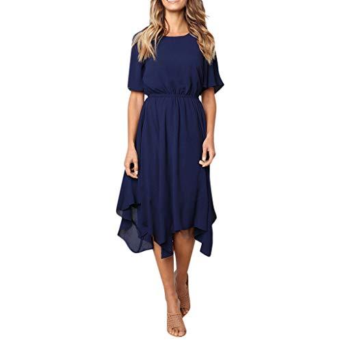 Fashion Sundress Beach Dress Women's Casual Short Sleeve Party Long Summer Dress Evening Dresses Maxi Dress -