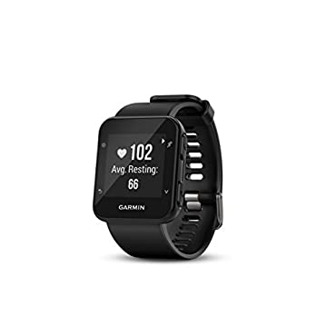 Garmin Forerunner 35 GPS Heart Rate Running Fitness Watch (FORERUN35BLACK)