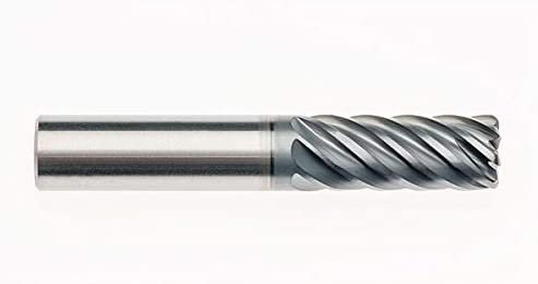 RedLine Tools 3//4 13 Flute 1.8750 LOC .0600 Radius Single End Corner Radius Carbide End Mill AlCrNX Coated RFZ13214 Round Shank Type 4.5000 OAL .7500