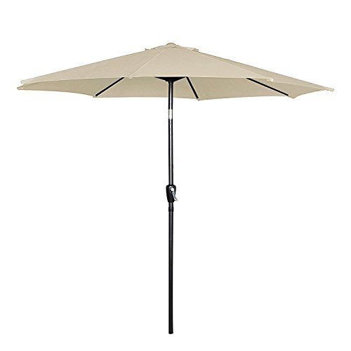 patio umbrella push button tilt