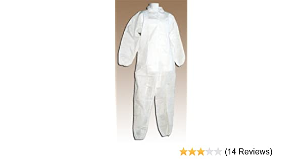 Proof Suit Disposable White Plastic Attractive Appearance Disposable Apron Suit Sleeve Gloves Mask Hair Cap Disposable Waterproof Dust Back To Search Resultshome & Garden
