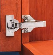 Blum CLIP top BLUMOTION Soft Close Hinges, 110 degree, Self Closing, Frameless, with Mounting Plates (Full overlay - 8 Pack)