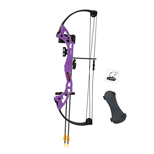 Bear Archery Brave Youth Bow - Purple