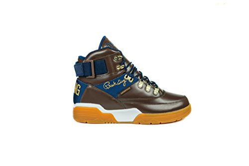 PATRICK EWING Athletics 33 Hi Winter Brown/Navy/Gold 1EW90129-900