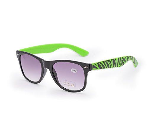 Cebra UV Reader de sol 5 lectores carey 4sold marca gafas 1 Unisex 4sold de de gafas Mujer sol lectura nbsp;marrón para Estilo UV400 hombre nbsp;fuerza fqHS0R1