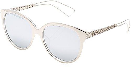 CHRISTIAN DIOR AMA2 TGU SILVER PALLADIUM - Cateye Dior Glasses