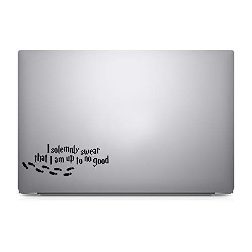 Bargain Max Decals I Solemnly Swear That I Am up to No Good Harry Potter - Apple MacBook Laptop Vinyl Sticker Decal, Model: 3333598, Electronic Store