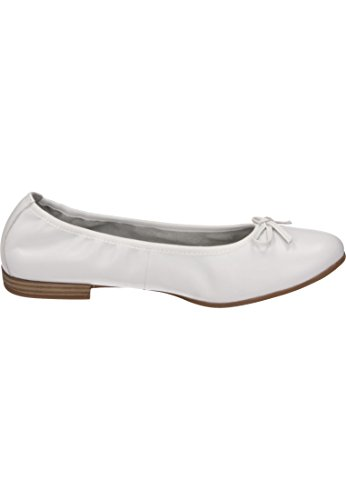 Tamaris Woman Pumps White Leath White, (White Leath) 1-1-22116-20/127 White