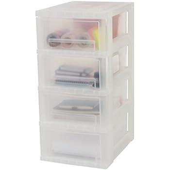 Amazon.com: Iris Ohyama Europe SDC-323 Plastic 5 Storage ...