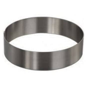 """Round Cake Mold/Pastry Ring, S/S, Heavy Gauge. (6.25"""" x 2"""")"""