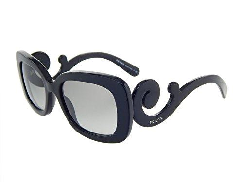 54434f85b5a4 New Prada MINIMAL BAROQUE PR 27OS 1AB3M1 Black Grey Gradient Lens 54mm  Sunglasses (Sunglasses