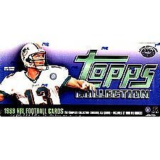 1999 Topps Football Factory Sealed 357 Card Set. Loaded with Rookies and Stars Including Daunte Culpepper, Donovan Mcnabb, Edgerrin James, Emmitt Smith, Dan Marino, Bledsoe, Elway, Steve Young, Aikman, Favre, ()