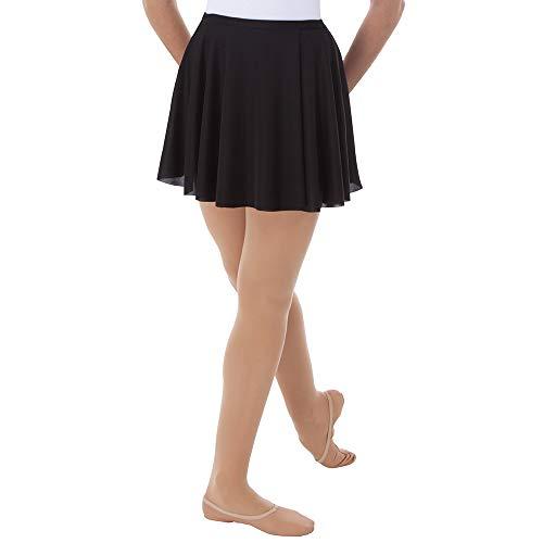 Body Wrappers Womens WRAP SKIRT 925 -BLACK XL2X