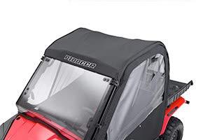Rear Roof Panels - Honda 0SR85-HL5-200 Pioneer 500 Black Fabric Roof/Rear Panel