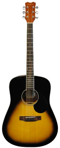 Stony River SRD2 VSB Dreadnought Acoustic Guitar, Vintage Sunburst