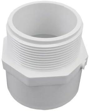 40 Threaded Reducing Bushings Genova Products 34321 2 X 1-1//2 PVC Sch