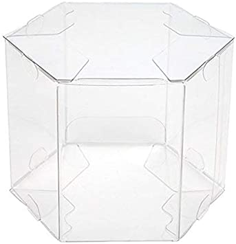 Caja hexagonal | 25 unidades | Tamaño: 3 1/2 pulgadas x 3 1/2 pulgadas