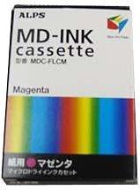 (ALPS MD-INK cassett MDC-FLCM Magenta)