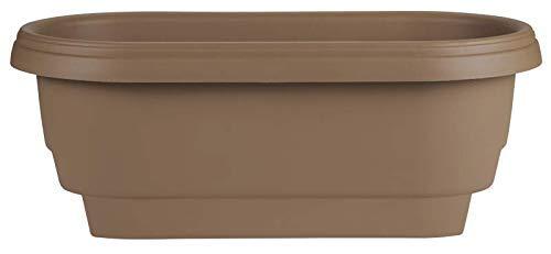 Bloem Deck Balcony Rail Planter 24quot Chocolate