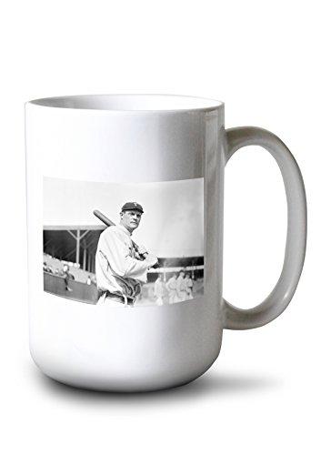 Travel Maple Toronto Leafs Mug (Lantern Press Tim Jordan, Toronto Maple Leafs, Baseball Photo (15oz White Ceramic Mug))