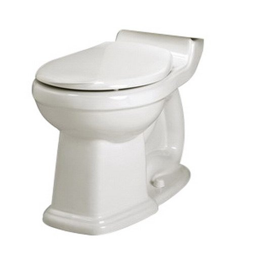 American Standard 3180.016.020 Townsend Champion-4 Right Height Round Front Seatless Toilet Bowl with Bolt Caps, White