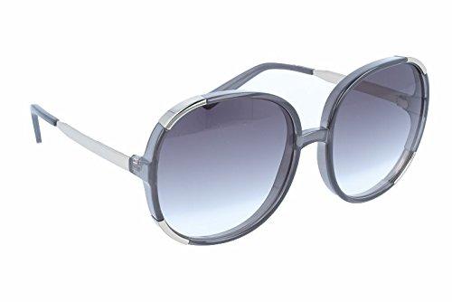 Chloe Women's Myrte - CE712SL Dark Grey/Grey Gradient - Chloe Round Frame Sunglasses