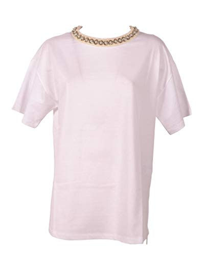 Scervino Bianco Ts2510 Ermanno Cotone shirt T Donna fTd8qwY8