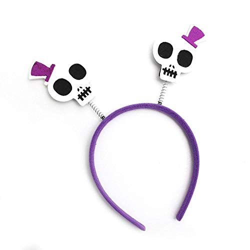 (4PCS Halloween Headband Head Boppers Party Fancy Dress Lovely Halloween Theme Pattern Hair Hoop Halloween Costume Party Birthday Party Favors and Dress Cosplay for People of Different)