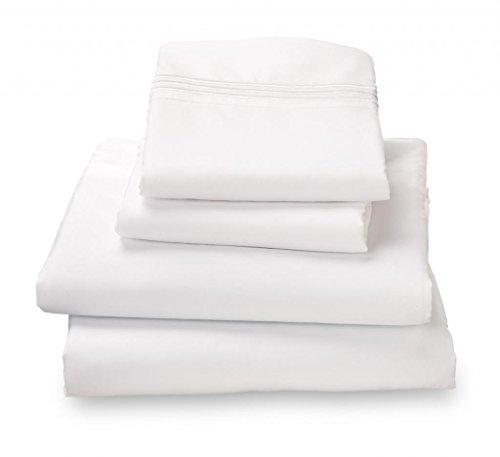 White Jersey Knit Polyester - 4