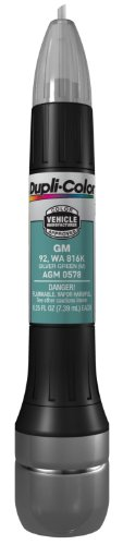(Dupli-Color AGM0578 Metallic Silver Green General Motors Exact-Match Scratch Fix All-in-1 Touch-Up Paint - 0.5 oz.)