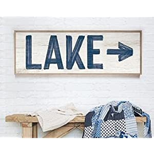 317AX74ctxS._SS300_ Nautical Wooden Signs & Nautical Wood Wall Decor