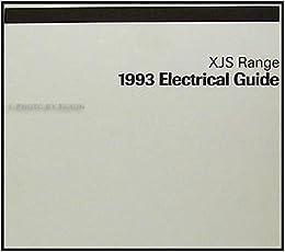 1993 Jaguar XJ-S Electrical Guide Wiring Diagram Original ... on