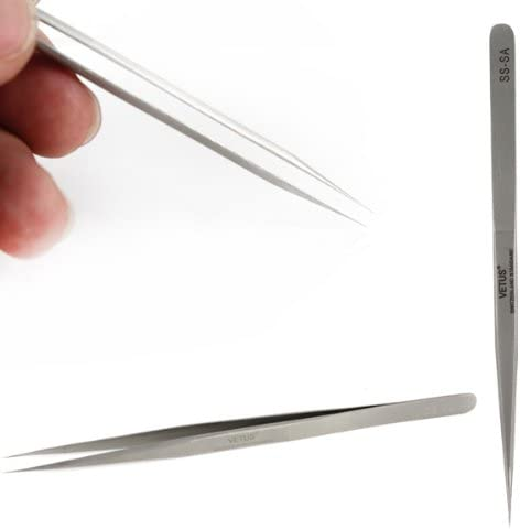 Convenient Family Must-Have Repair Tool Multifunction ST-11 Stainless Steel Tweezers for Phone