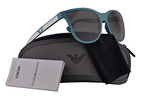 - Emporio Armani EA4112 Sunglasses Azure w/Grey Gradient Lens 57mm 566311 EA 4112