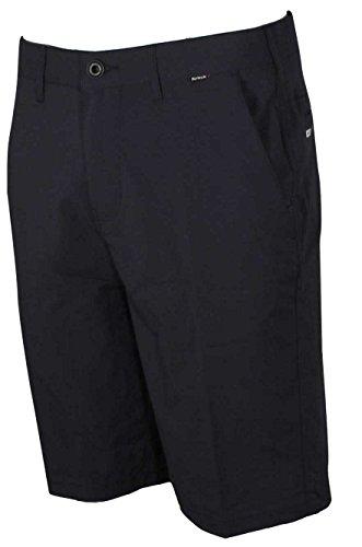 Hurley Men's Dri-Fit Chino 22 Walk Short, Dark Obsidian 30 X 10