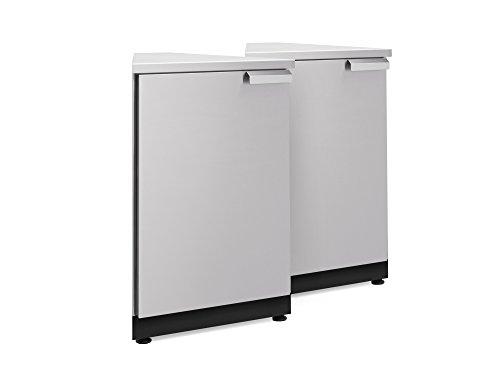 NewAge 65005 Outdoor Kitchen Storage, 45 Degree Corner Stainless Steel