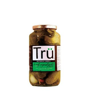 Tru Kosher Natural Dill Pickles, 32-ounce (Pack of 6)