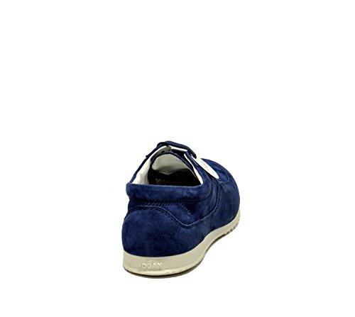 HXW00E00010CR0U805 Hogan Suède Femme Femme Hogan Baskets Bleu vwC7P