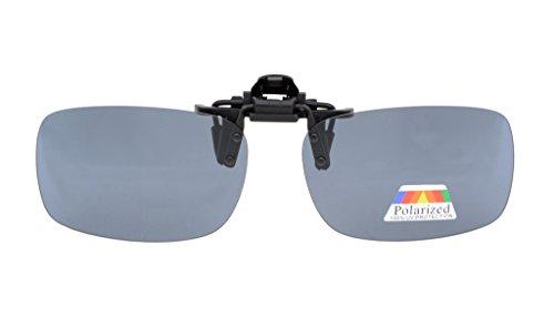 Eyekepper Flip-up Clip-on Sunglasses Polarized 2 5/16