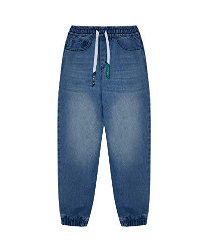GULLIVER Jongens Jeans Broek Kinderen Spijkerbroek Blauw Straight Regular Fit Katoen Casual Tieners 9-15 Jaar