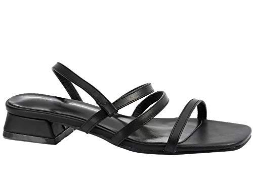 slide heel sandal - 3