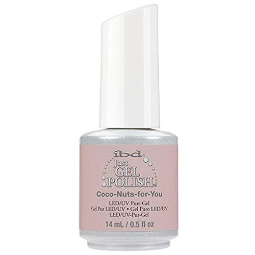 ibd Just Gel Polish - Island of Eden Spring 2016 Collection - Coco-Nuts-For-You - 0.5oz / 14ml
